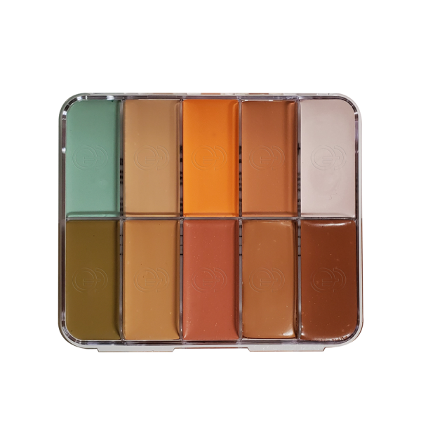 HD Cream Foundation Palette